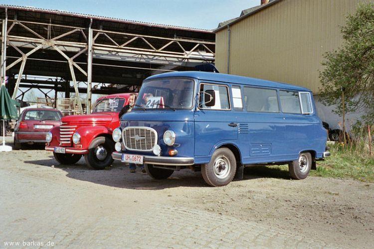 1966 Barkas Blau Treffen