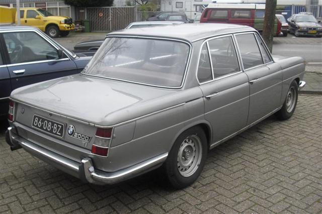 1966 BMW 2000 TI  86-08-BZ