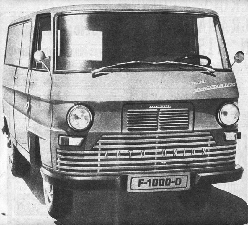 1966 DKW IMOSA F1000 Diesel