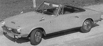 1966 glas 1700 gt cabrio