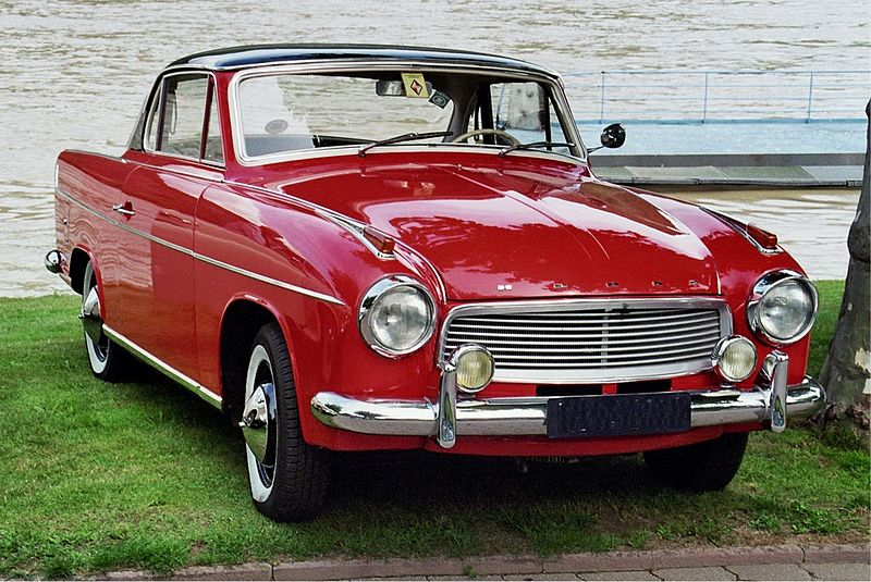 1966 Goliath Hansa 1100 Coupé