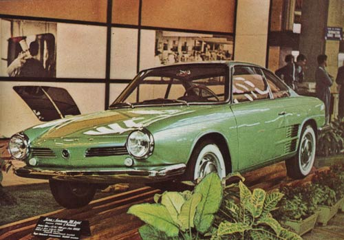 1966 Hino Contesssa 900 Sprint Coupe(BMW-Glas 1600 GT)