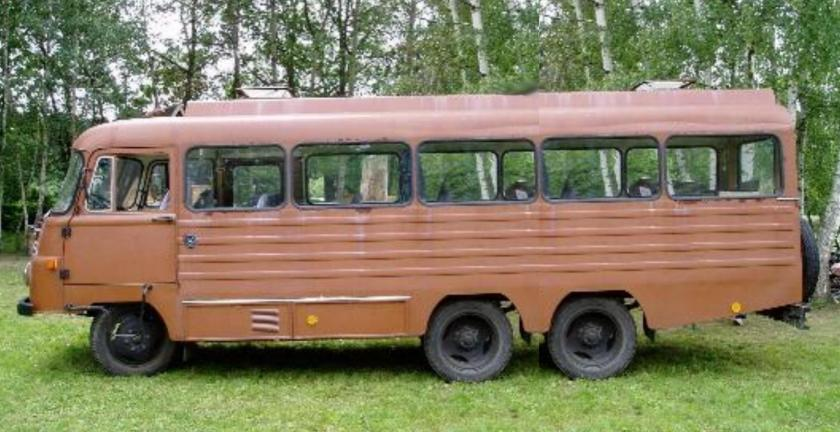 1966 Robur Verlengde Bus