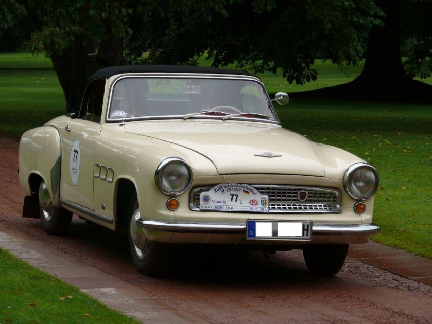 1966 Wartburg 313 Sport-Cabriolet