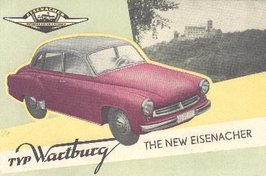 1966 Wartburg Reclame