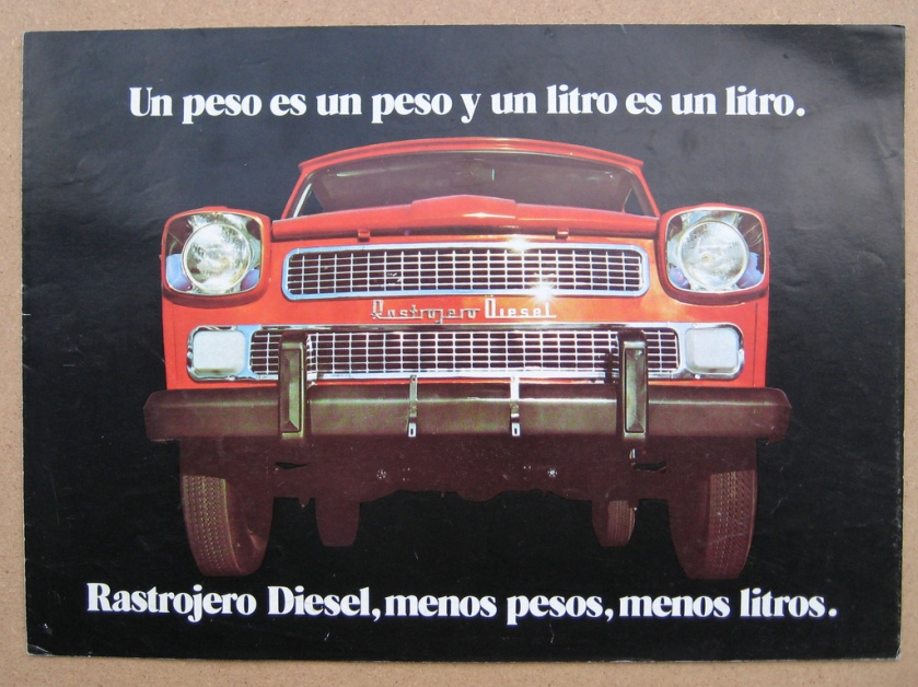1967-79 Rastrojero Diesel