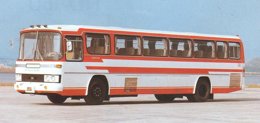 1967-87 Hyundai RB 635