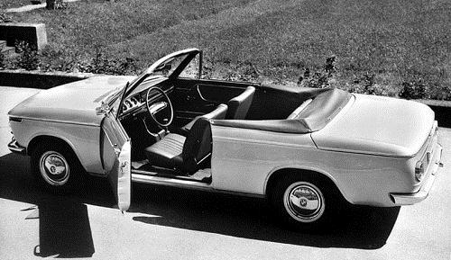1967 BMW 1600-2 cabriolet