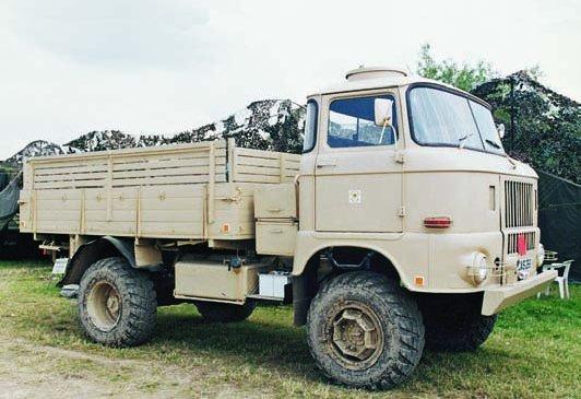 1967 IFA W50LA-A, 4x4