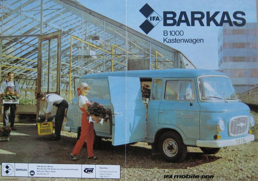 1968 Barkas B1000 IFA