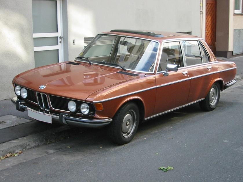 1968 Bmw 2500 v sst