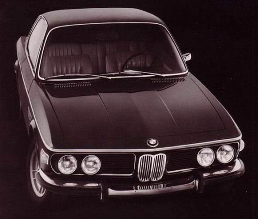 1968 BMW 2800 CS