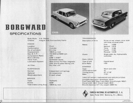 1968 Borgward mexico