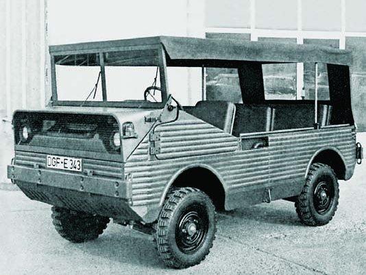 1968 Glas Euro-jeep, 4x4