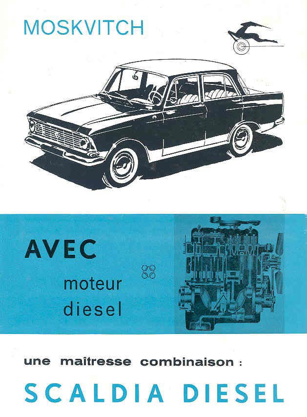 1968 moskvitch scaldia brochure 68