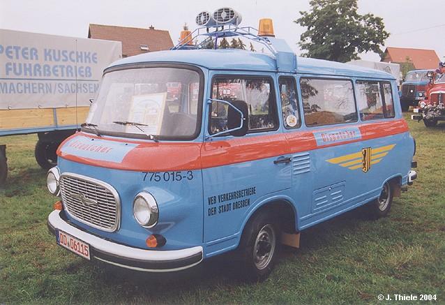 1969 Barkas B 1000 F-K Kombi-Kleinbus