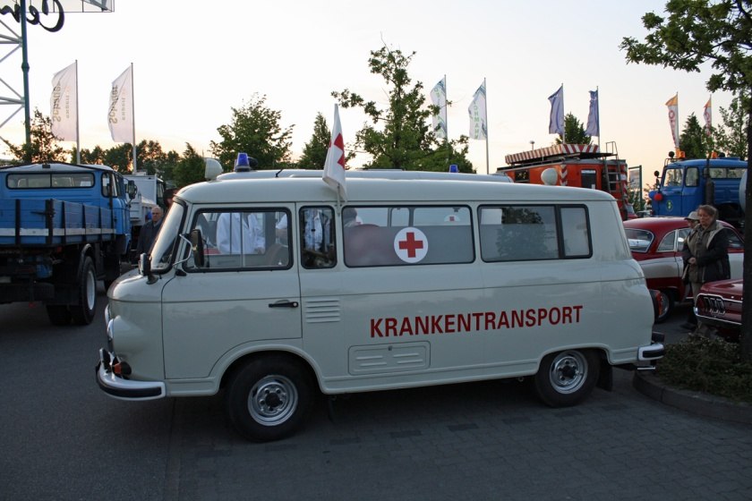 1969 Barkas B 1000 Krankentransport