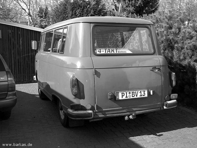 1969 Barkas Grey 4 takt