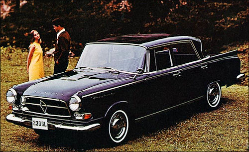 1969 Borgward 230 GL Mexico