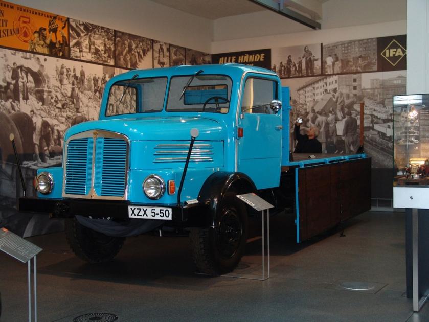 1969 Horch Truck.Zwickau