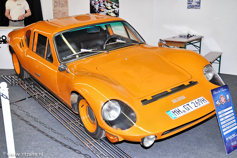 1969 Melkus RS 1000 - sport coupe body