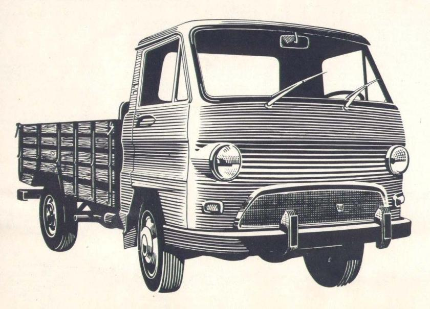 1969 Rastrojero Diesel Modelo Frontalito F-71