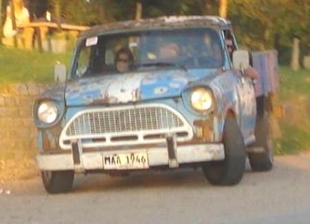 1969 Rastrojero en Uruguay