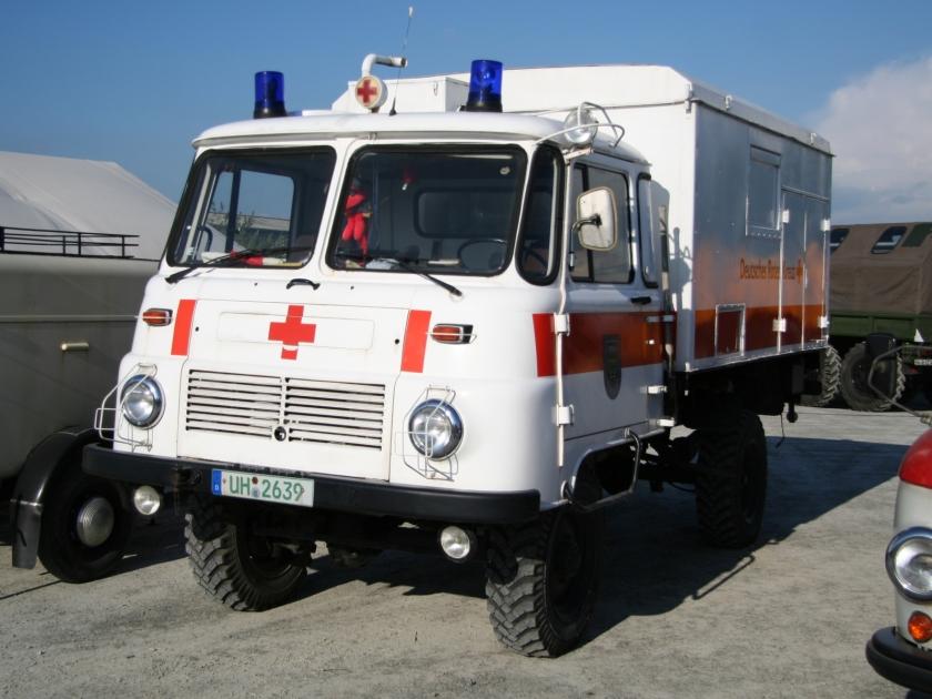 1969 Robur Rote Kreuz