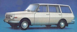 1969 Wartburg Kinght Estate