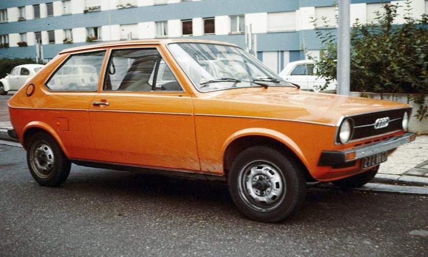1970 Audi 50a Strasbourg