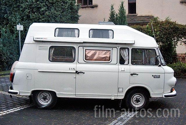 1970 Barkas Kampeerauto