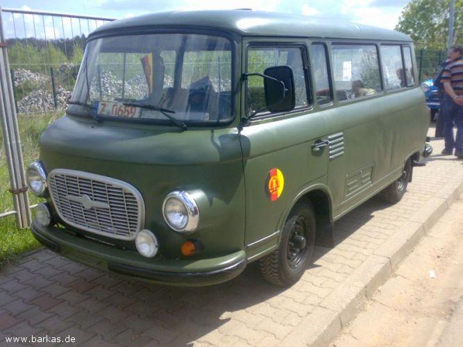 1970 Barkas militair busse Treffen 2008