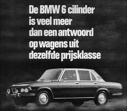 1970 BMW 2500-2800
