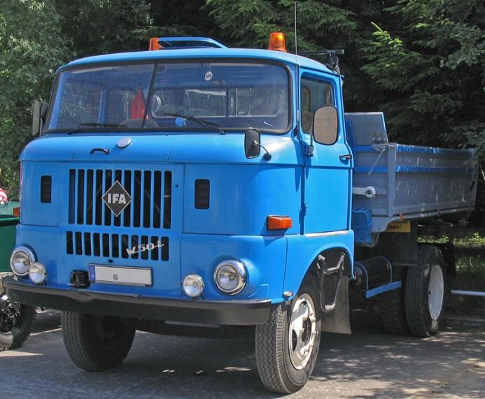 1970 IFA W50 truck