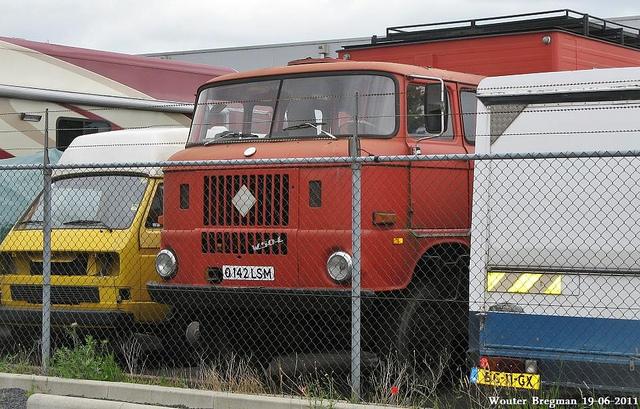 1970 IFA W50L in England