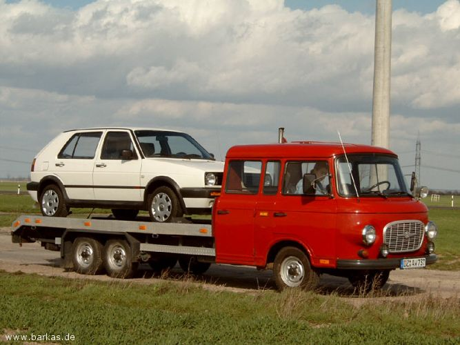 1971 Barkas 4 person Truck