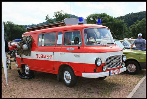 1971 Barkas Brandweerwagen Duitsland