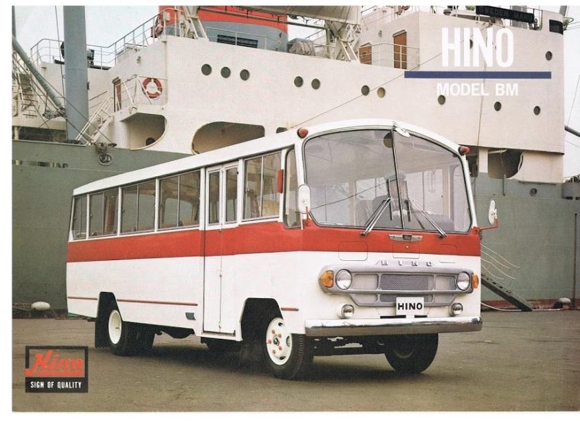 1971 HINO BM (166-ES 1971)