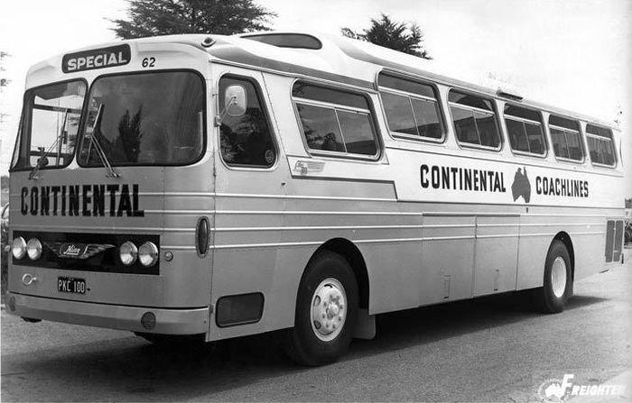 1971 Hino bus Australia