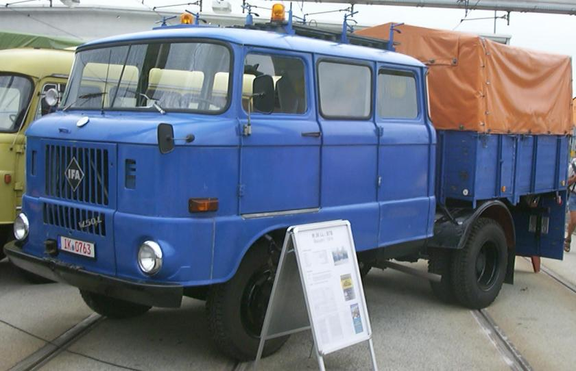 1971 IFA W50 L Langkabine