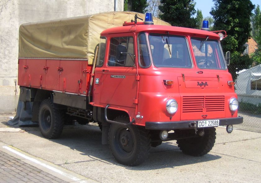 1971 Robur LO 2002 A Fire Engine