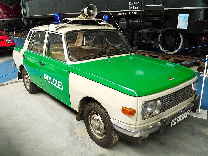 1971 Wartburg Polizeiwagen Prora