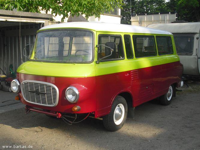1972 Barkas fertig montiert