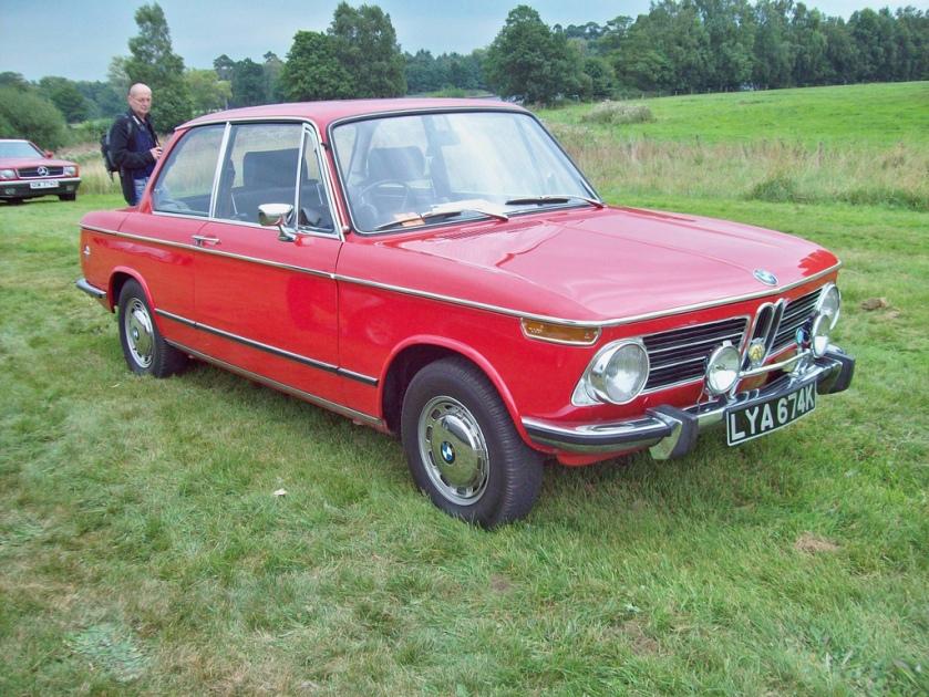 1972 BMW 2002  Engine 1990cc S4