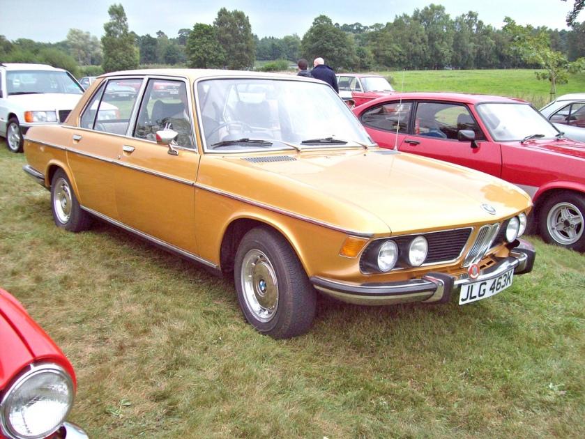 1972 BMW 2500  Engine 2494cc S6