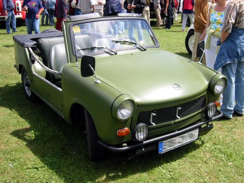 1972 Trabant 601 military