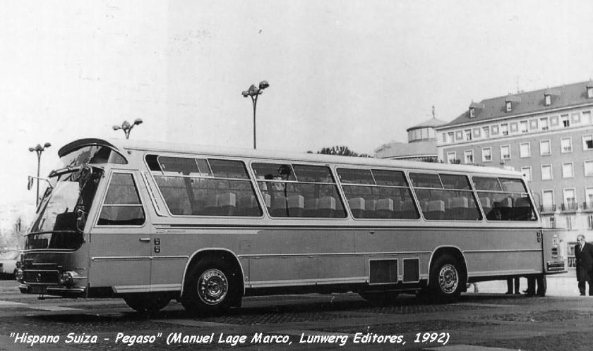 1973 Ayats Hispano Suiza Pegaso Z1230 Pegasos