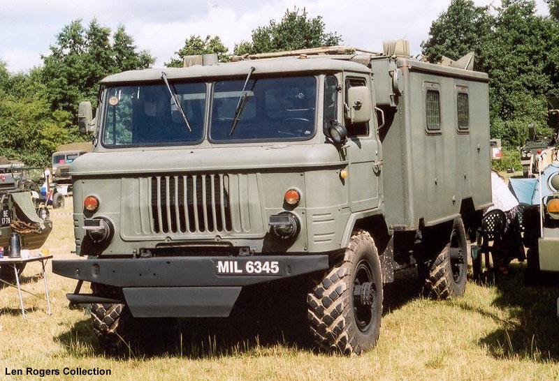 1973 GAZ-66.
