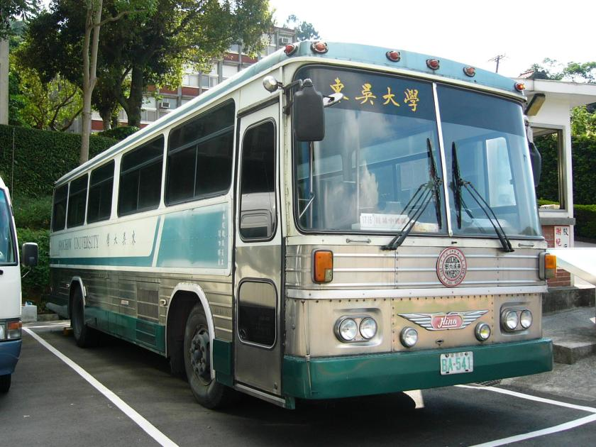 1973 Hino bus BA-541 of Soochow University (Taiwan)