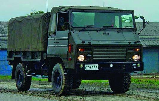 1973 Hino Type-73, 4x4